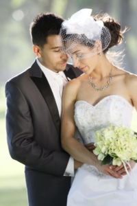 Wedding Couple at Four Hills Country Club